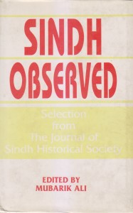 Selections from the research articles about the Sindh
